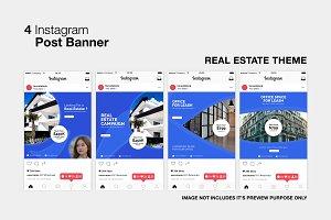 Real Estate Instagram Post