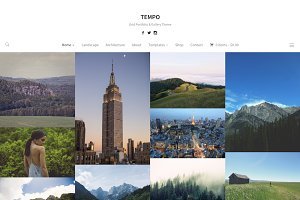 Tempo - Masonry Photography Theme