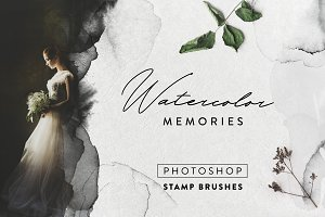 Watercolor memories - 125 PS brushes