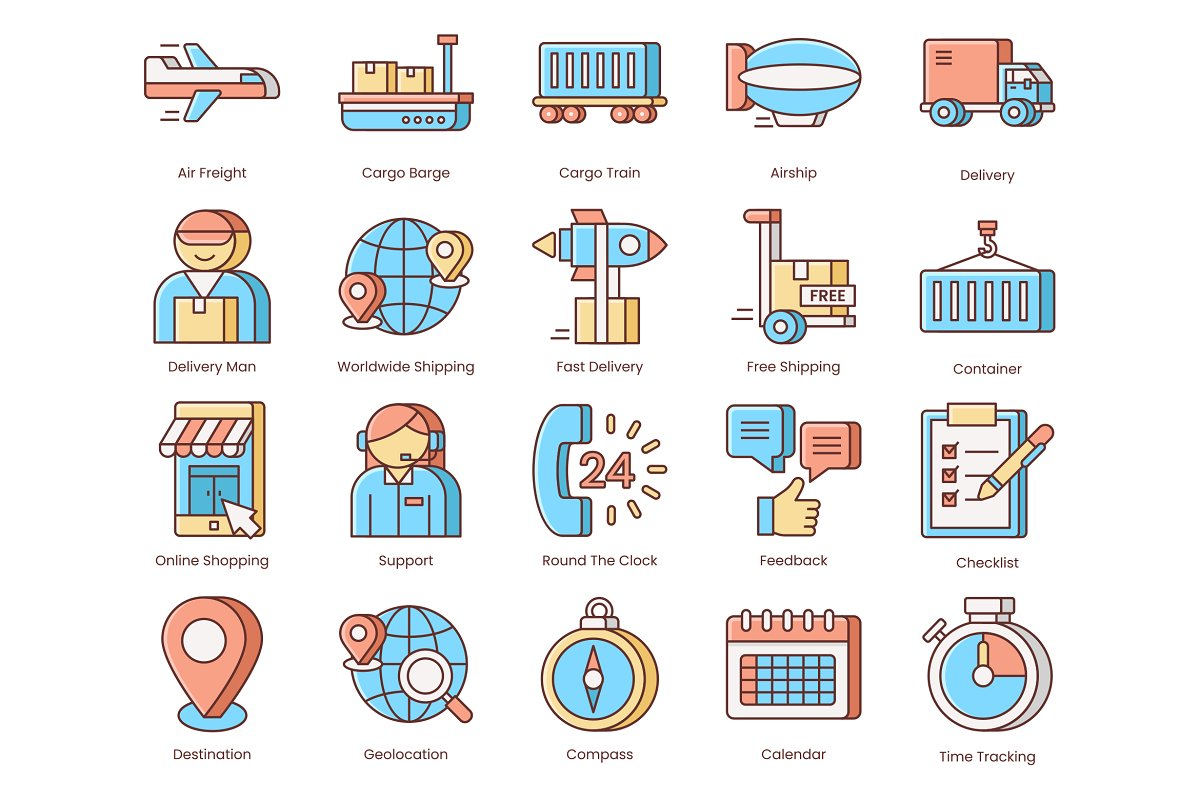 Shipping, Logistics, Delivery Icons in Safety Icons - product preview 1