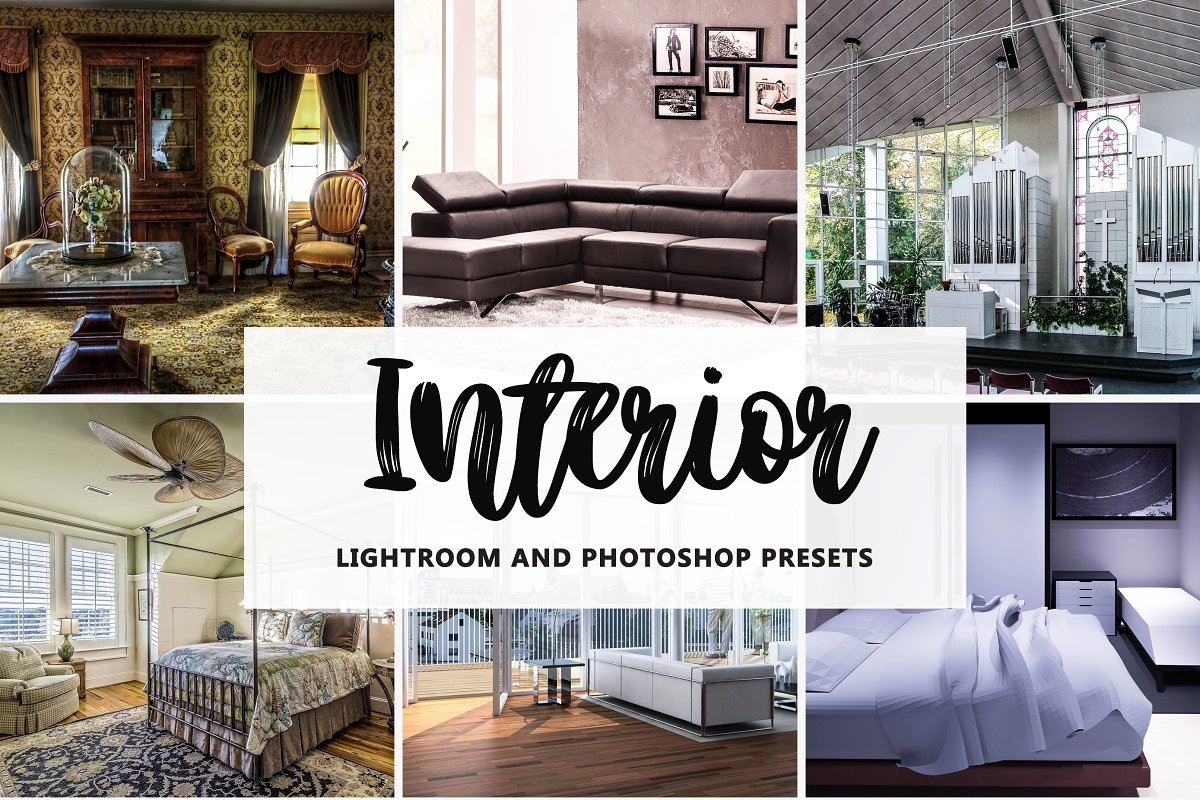Interior Designers Presets ~ Photoshop Add-Ons ~ Creative Market