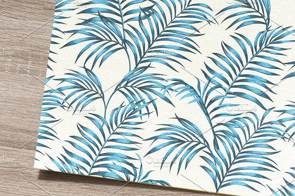 Tropical pattern. Seamless design.