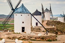 Traditional old windmills in by  in Architecture