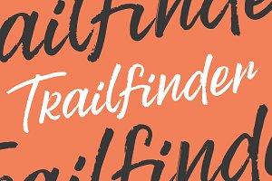 Trailfinder | A Brush Script Font