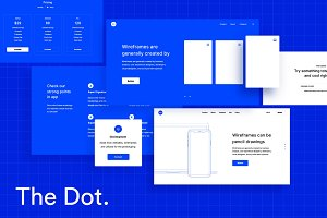 The Dot – Wireframe UI Kit