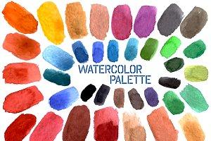 №39 Watercolor palette, set 2
