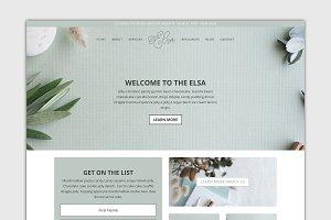 The Elsa -Divi Child Wordpress Theme