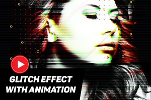 Glitch effect with GIF Animation 3