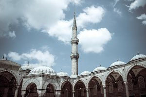 Blue Mosque Tower