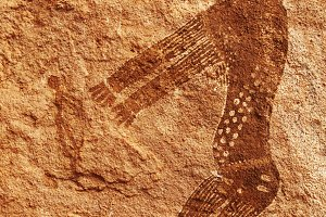 Rock paintings of Tassili N'Ajjer