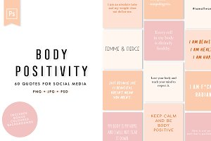 Body Positivity Social Media Quotes