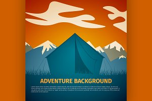 Adventure background