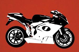 Superbike Vector