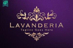 Lavanderia - Classy Vintage Logo