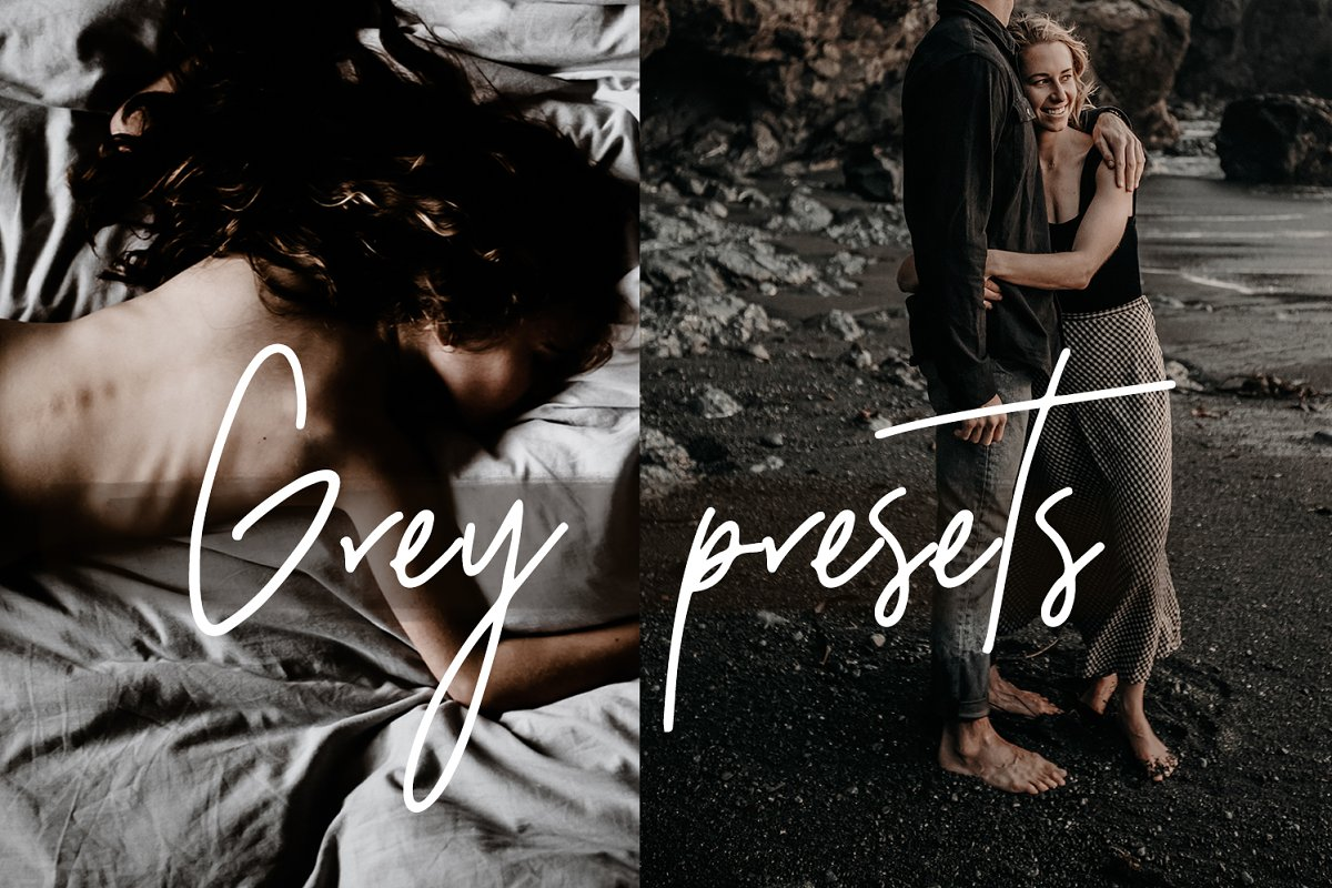 MINIMAL GREY LIGHTROOM PRESETS ~ Other Design Software Add