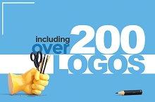 200+ Logo Designs - 95% OFF