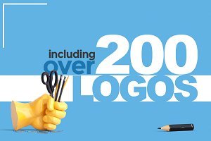 200+ Logo Designs - 95% OFF