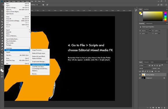 Mixed Media FX Photoshop Add-On