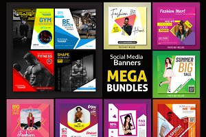 Social Media Banners Bundle
