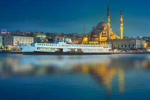 Public ferry of Istanbul,Turkey