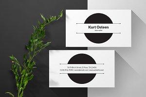 Business Card 03 - Kurt Osteen