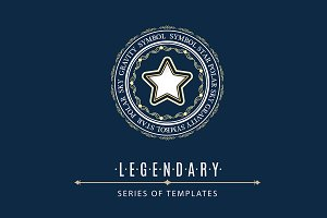 Luxury Logo from LEGENDARY set