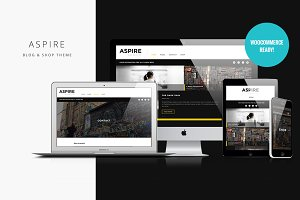Aspire - Responsive Blog & Shop Them