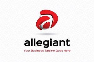 Allegiant Logo Template