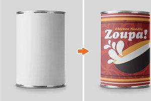 Bottles, Cans & Cups Mockup PSDs