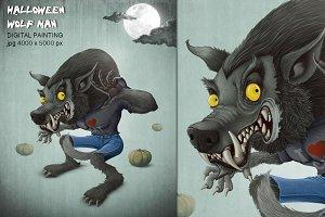 Halloween Wolf man