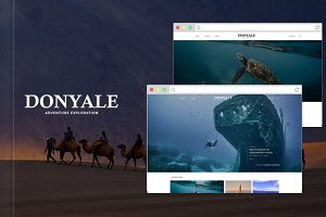 Donyale - Adventure Magazine Theme
