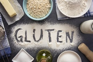 Gluten Baking Background