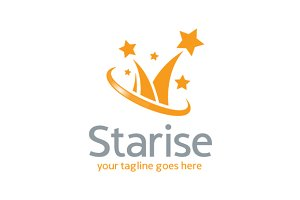 Star Business Logo Template