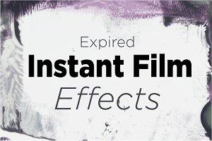 Expired Instant Film Edge Effect