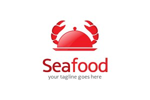 Creative Sea Food Logo Template