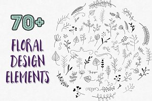 Leaf and Floral Design Elements