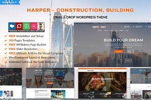 Harper – Construction Building Theme