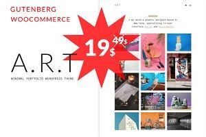 Artis - Minial Shop &Portfolio Theme
