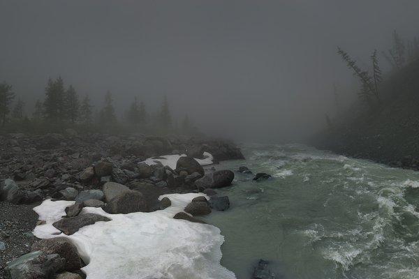 Nature Stock Photos - Mountain river