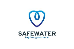 Safe Water / Protect Logo