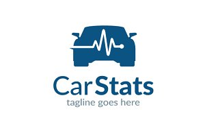 Car Stats/ Service Logo Template