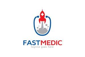 Fast Medic Logo Template