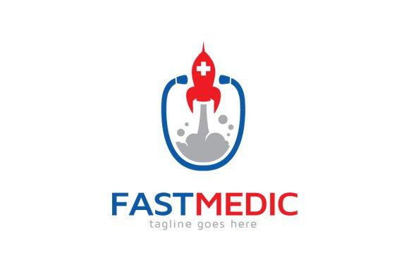 fast medic logo template logo templates creative market