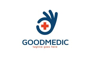 Good Medical Logo Template