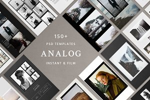 Analog Film & Instant - Social Kit