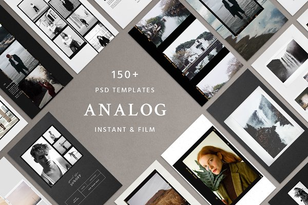 Analog Film & Instant - Social Kit