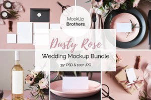 Wedding mock up Bundle mockup
