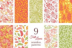9 Elegant Fall Patterns Autumn
