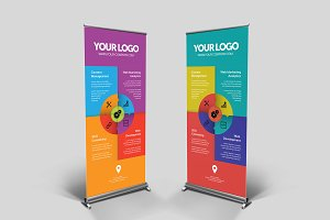 Business Roll-up Banner - nex #008