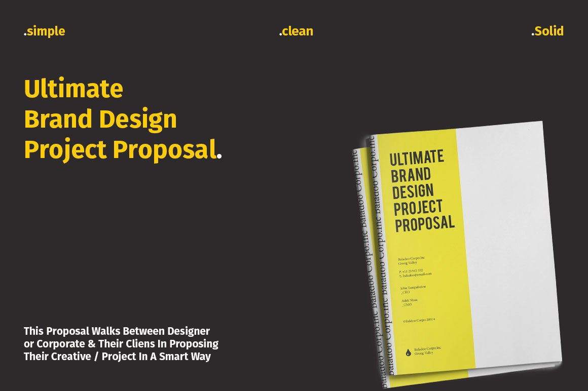 20 Creative Business Proposal Templates You Won\'t Believe Are ...